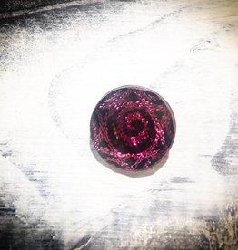 Snap Button Jewels™ | Fashion | Pink | Swirl Gem