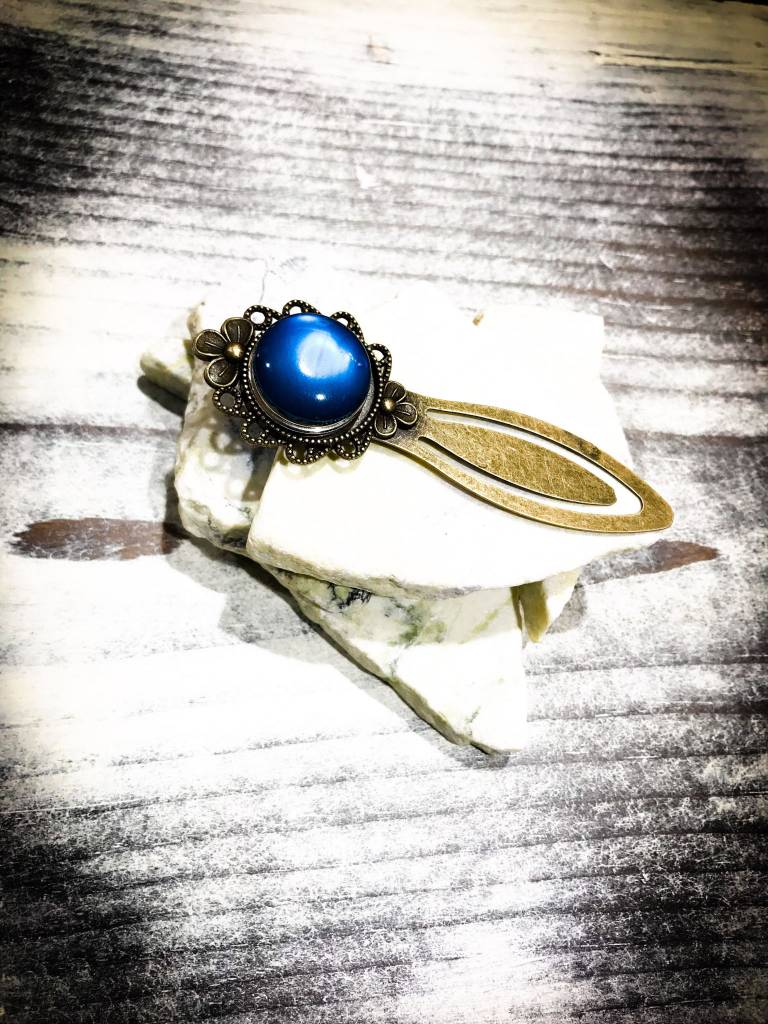Snap Button Jewels™   Fashion   Silver   Rustic Bookmark   1 Snap