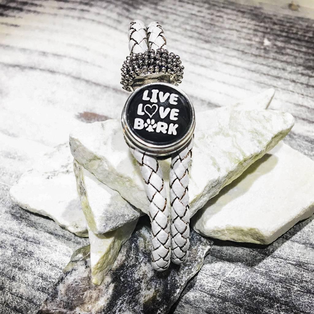 Snap Button Jewels™ | Fashion | Black | Live Love Bark