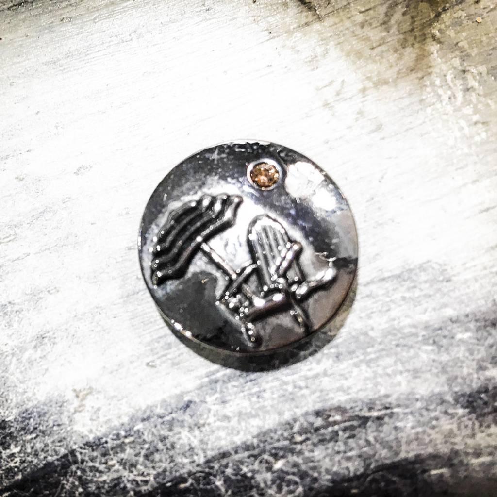 Snap Button Jewels™   Fashion   Silver    Adirondack with Umbrella