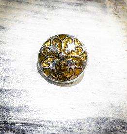 Snap Button Jewels™ | Fashion | Gold | Quatre Fleur