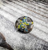 Snap Button Jewels™   Rhinestone   Silver   Starfish