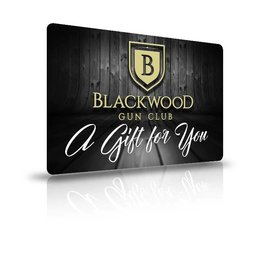 Blackwood Gun Club Blackwood Gift Card