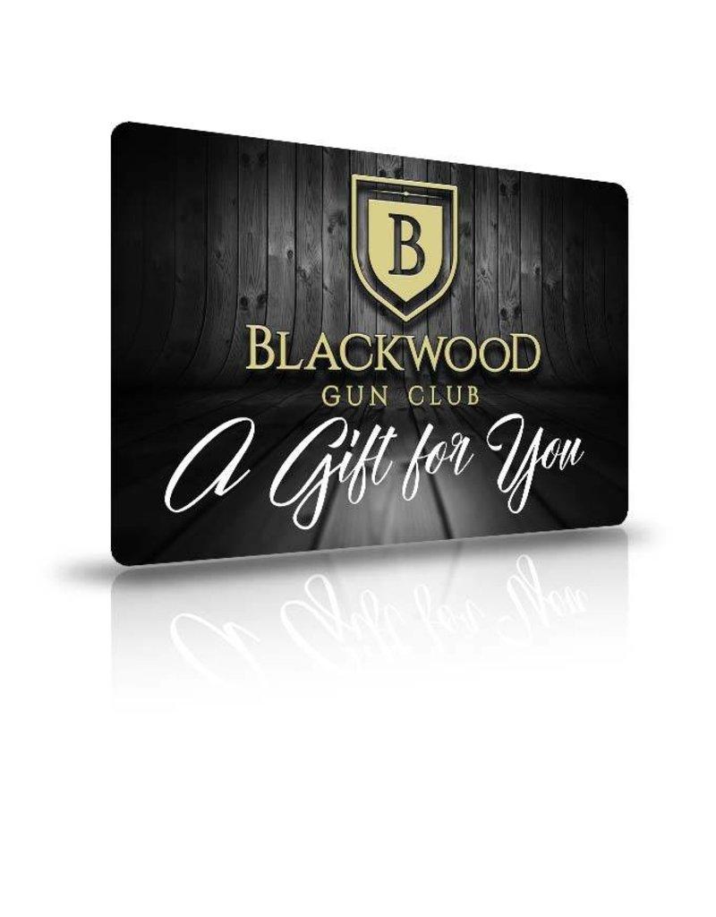 Blackwood Gun Club Blackwood Gift Card