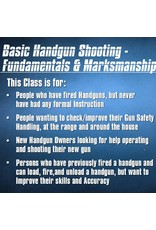 Blackwood Academy Basic Handgun Shooting 9-15-2018