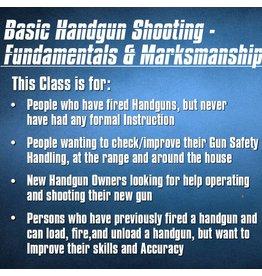 Blackwood Academy Basic Handgun Shooting