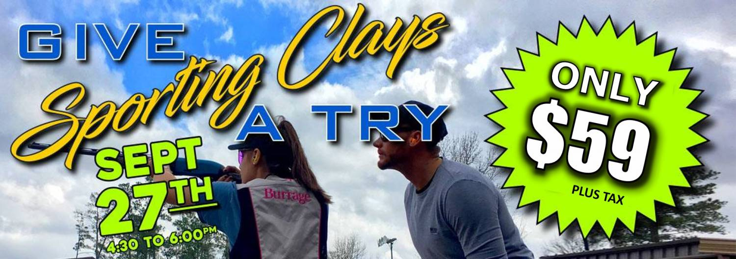 Give Sporting Clays a Try