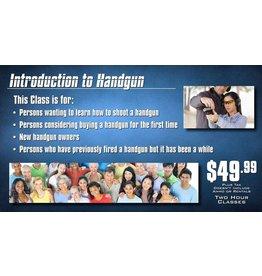 Blackwood Academy Introduction to Handgun Class