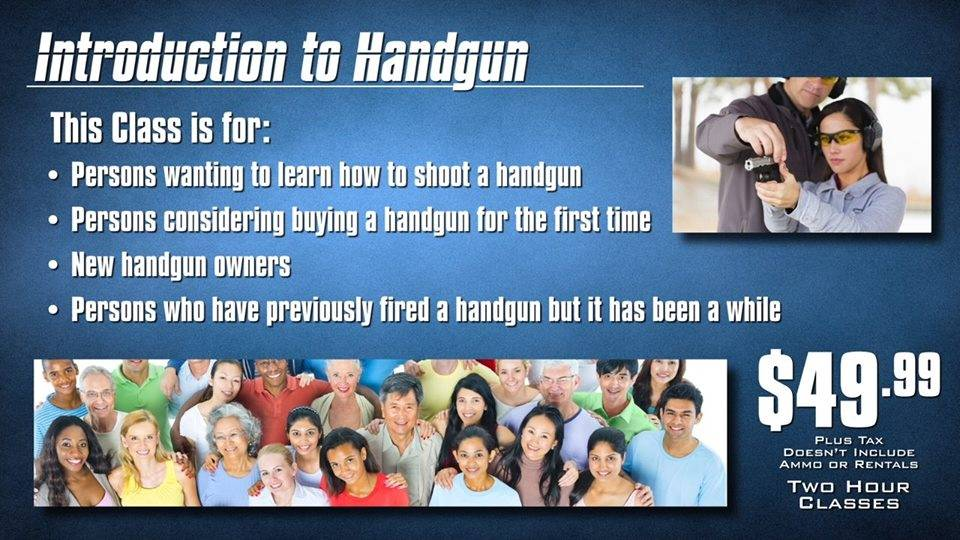 Introduction to Handgun Class
