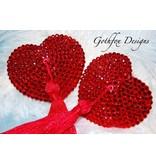 Gothfox Gothfox Couture Valentine Pasties