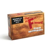 """Magnetic Poetry Kit: The """"F"""" Word"""