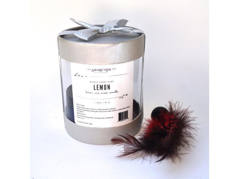 Sea Grape Seagrape Lemon Edible Honey Dusting Powder
