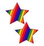 Pastease Rainbow Star Pasties