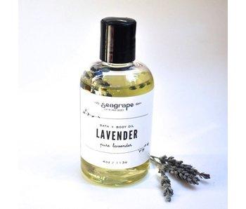 Seagrape Massage Oil