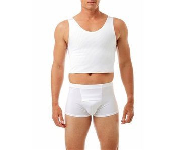 Cotton-Lined Tri-Top Chest Binder<br /> Cotton Lined Power Chest Binder Top