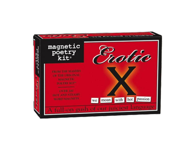 Magnetic Poetry Kit: Erotic X Edition