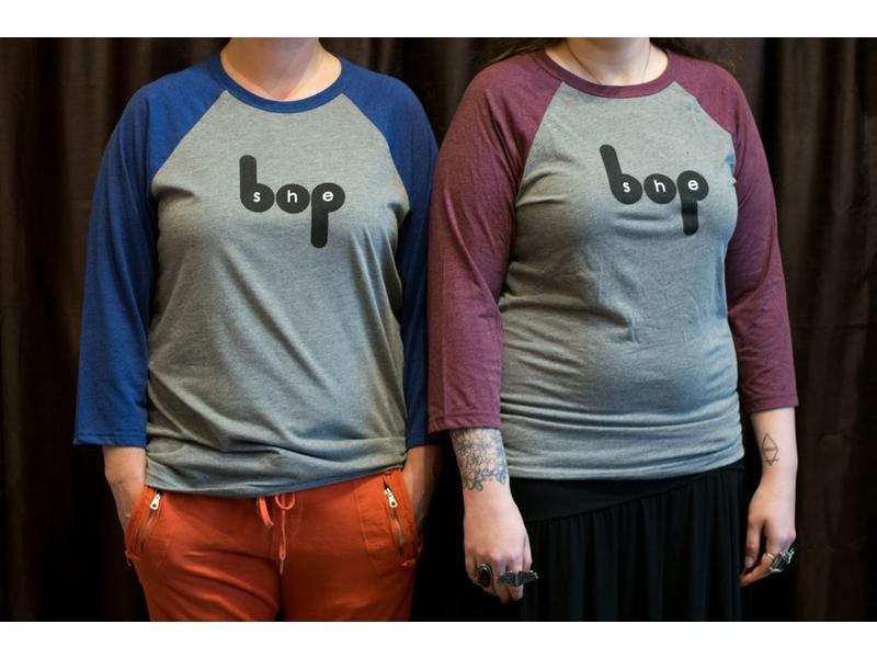 She Bop Baseball T-Shirt