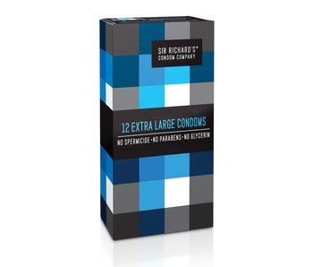 Sir Richard's Extra Large Condoms (12 pack)