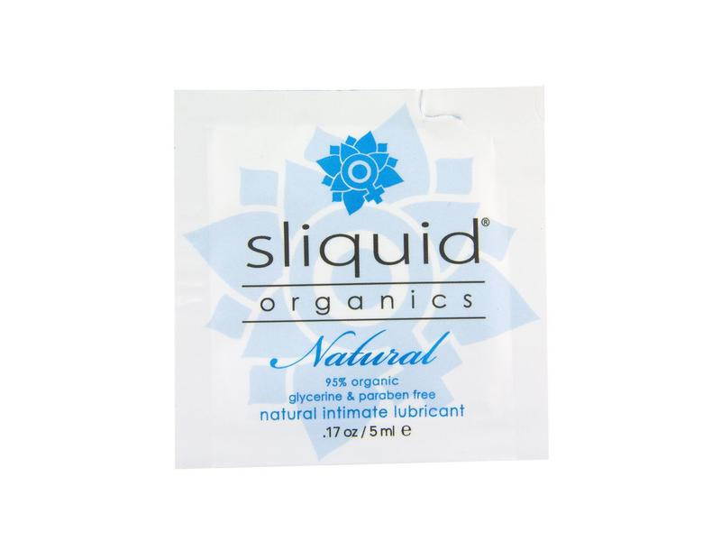 sliquid Sliquid Organics Natural Lube Sample