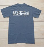 Fairhope Coordinates Short Sleeve T-Shirt