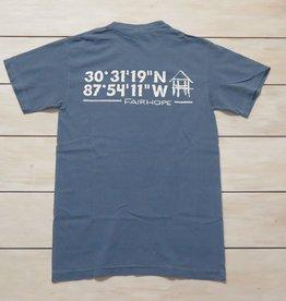 Fairhope Coordinates Short Sleeve T-Shirt