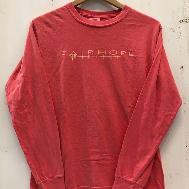 Fairhope Pier Long Sleeve T-Shirt