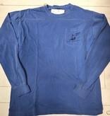 Long Sleeve Cast Net T w/Pocket