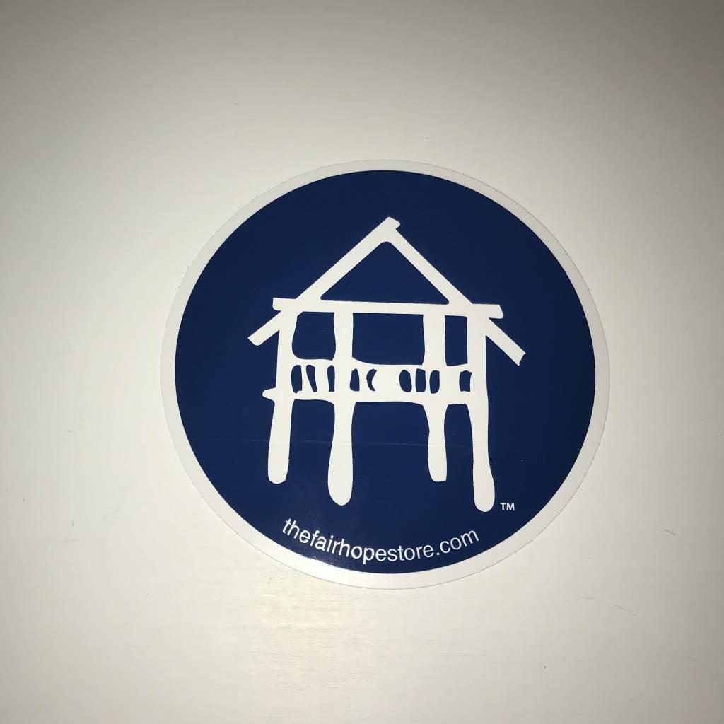 Fairhope Pier Sticker - Donation