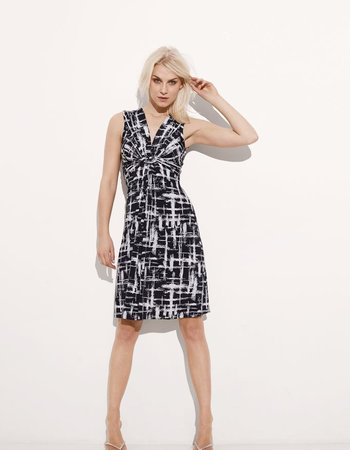 ILSE JACOBSEN ILSE JACOBSEN BLACK & WHITE DRESS