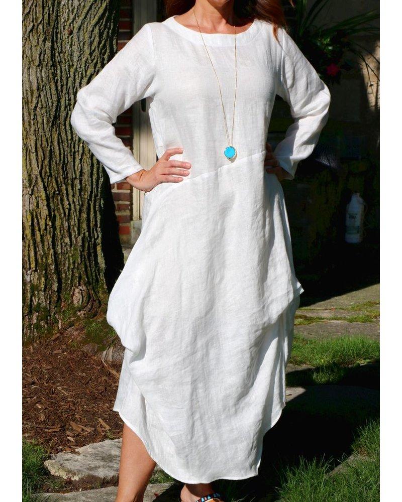 HEYDARI LINEN DRESS