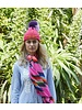 ROSE AND ROSE ROSE AND ROSE JAQUARD KNIT HAT
