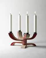 DESIGN HOUSE STOCKHOLM DESIGN HOUSE NORDIC LIGHT 4 ARMS RED