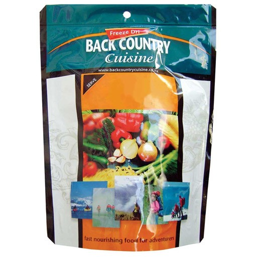 Back Country Cuisine Back Country Pasta Vegetariano Double Serve