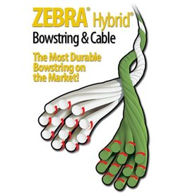 "Barracuda Zebra Bow String 88"" Helim"