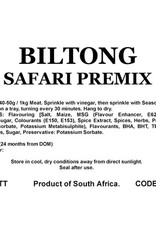 Butcher at Home Biltong Safari Premix 2kg