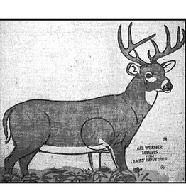 AMES Ames All Weather Burlap Target Face 2nd Whitetail