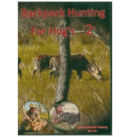 John Teitzel Back Pack Hunting For Hogs 2 DVD