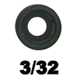 "Specialty Archery Specialty 1/8"" Super Ball Peep Aperture 3/32"""