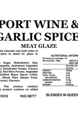 Butcher at Home Port Wine & Garlic Spice Glaze 1kg