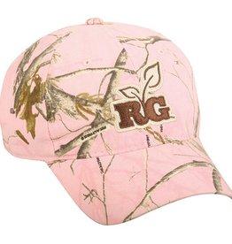 Outdoor Pro Staff Outdoor Cap Realtree Girl Pink Camo Ladies Cap