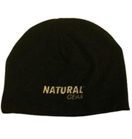Natural Gear Natural Gear Black Fleece Beanie