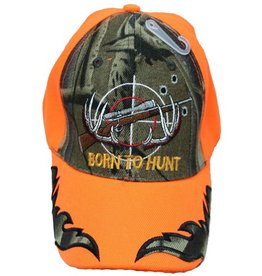 The Knife Kompany Born To Hunt Cap Blaze Orange/Camo