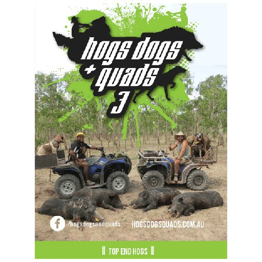 AFN Hogs Dogs & Quads 3 DVD
