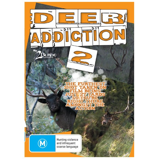 2 Blade Productions Deer Addiction 2 DVD