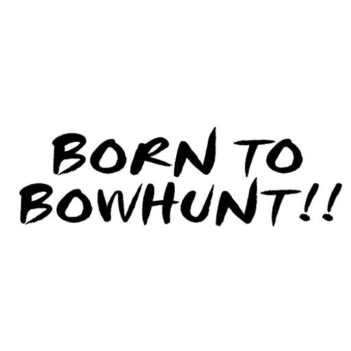 Born to Bowhunt Decal