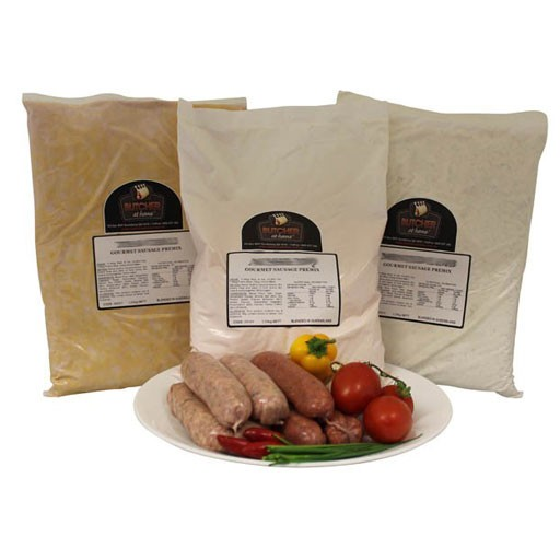 Butcher at Home Gourmet Sausage Meal Pumpkin, Fetta & Shallots GSM 1.25kg