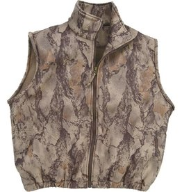 Natural Gear Natural Gear Wind Proof Fleece Full Zip Vest