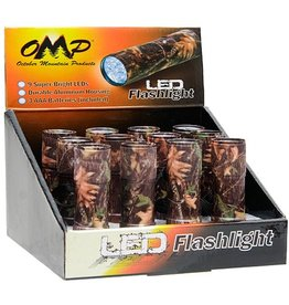 OMP OMP Camo Flashlight 9 LED (Each)