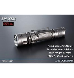 HiTech Illumination HiTech Jetbeam Jet-III M XML Flashlight