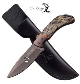 Elk Ridge Elk Ridge Fixed Blade Camo Handle